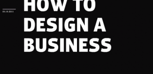 Food for your mind: How to design a business